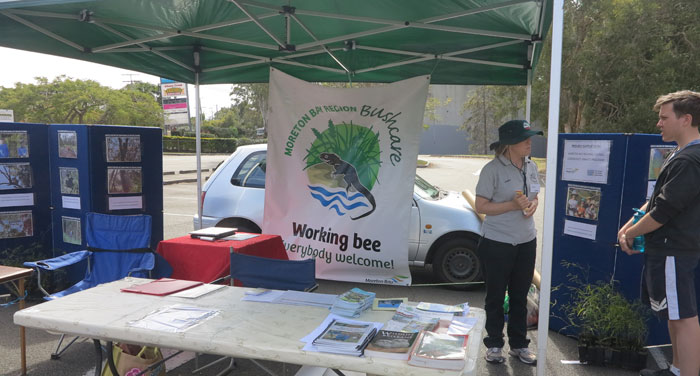Thanks to dedicated volunteers Janet, Alison, Trina, Michael and Gary, the Dawn Road Reserve Bushcare Group was present all day at the recent Albany Hills State School fete